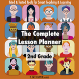 2nd Grade Lesson Plan Template: All Subjects w/ Common Cor