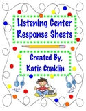 2nd Grade Common Core Listening Center Response Sheets