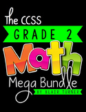 2nd Grade Common Core MATH MEGA BUNDLE {A Year's Worth of Math Materials}