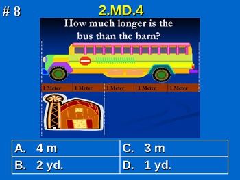 2nd Grade Common Core Math 2 MD.4 Measurement and Data 2.MD.4