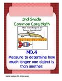 2nd Grade Common Core Math 2 MD.4 Measurement and Data 2.MD.4 PDF