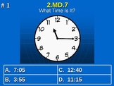 2nd Grade Common Core Math 2 MD.7 Practice of Time Measurement 2.MD.7