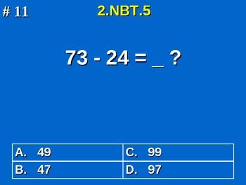 2nd Grade Common Core Math 2 NBT.5 Add & Subtract Within 100 2.NBT.5