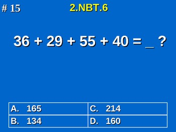 2nd Grade Common Core Math 2 NBT.6 Add Four Two-Digit Numbers 2.NBT.6