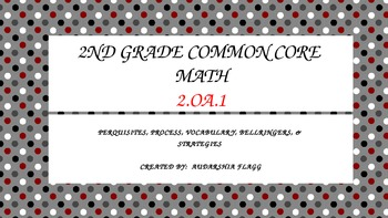 2nd Grade Common Core Math 2.OA.1