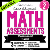 2nd Grade Common Core Math Assessment - Measurement and Data