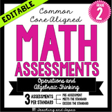 2nd Grade Common Core Math Assessment-Operations and Algebraic Thinking