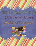 2nd Grade Common Core Math Assessment Pack