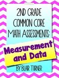 2nd Grade Common Core Math Assessments - Measurement and Data