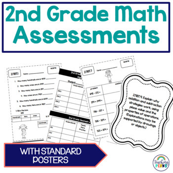 2nd Grade Common Core Math Assessments {without standard posters}