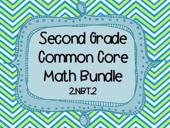 2nd Grade Common Core Math Bundle - 2.NBT.2