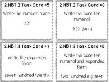 2nd Grade Common Core Math Bundle - 2.NBT.3
