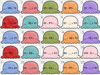 2nd Grade Common Core Math Bundle - 2.NBT.5