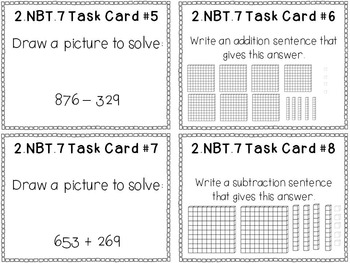 2nd Grade Common Core Math Bundle - 2.NBT.7