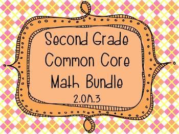 2nd Grade Common Core Math Bundle - 2.OA.3