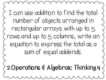 2nd Grade Common Core Math Bundle - 2.OA.4