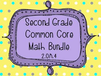 2nd Grade Common Core Math Bundle - Operations and Algebraic Thinking