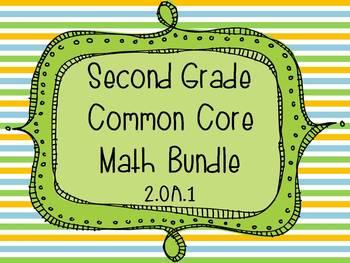2nd Grade Common Core Math Bundle - Operations and Algebraic Thinking
