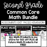 2nd Grade Common Core Math Bundle ~ 50% off bundle + all FREE future products!