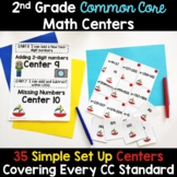 2nd Grade Math Centers -Covers ALL 2nd Grade Math Standards