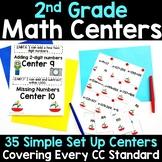 2nd Grade Math Centers -Covers ALL 2nd Grade Math Standards
