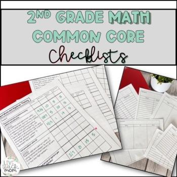 2nd Grade Common Core Math Checklist for Differentiation