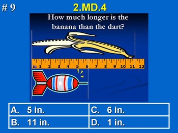 2nd Grade Common Core Math Comprehensive Practice Bundle Pack