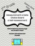 2nd Grade Common Core Math: Measurement & Data Choice Boar