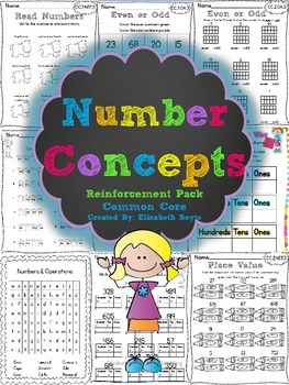 2nd Grade Common Core Math: Numbers and Operations