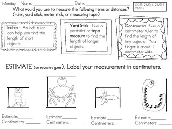 2nd Grade Common Core Math Pack 5.1