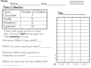 2nd Grade Common Core Math Pack 5.2