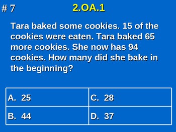 2nd Grade Common Core Math Practice