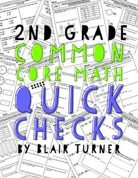 2nd Grade Common Core Math Quick Checks