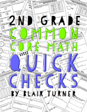 2nd Grade Common Core Math Quick Checks