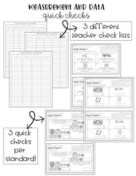 2nd Grade Common Core Math Quick Checks- THE BUNDLE