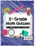 2nd Grade Common Core Math Quizzes