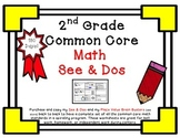 2nd Grade Common Core Math See & Do Daily Spiral Review /