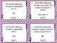 2nd Grade Common Core Math Task Cards - NUMBERS AND OPERAT