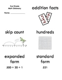 2nd Grade Common Core Math Vocab