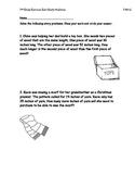 2nd Grade Common Core Measurement Story Problems