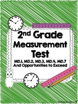 2nd Grade Common Core Measurement Test