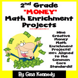2nd Grade Money Math Enrichment Projects