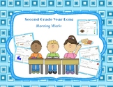 2nd Grade Common Core Morning Bell Work (Full Year)