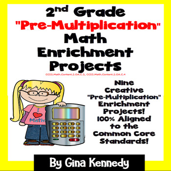 "2nd Grade ""Pre Multiplication"" Math Skills Enrichment Projects"