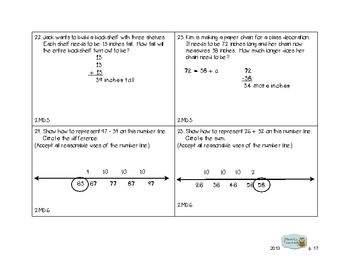 2nd Grade Common Core Progress Check: Math Form A