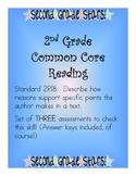 2nd Grade Common Core Reading Assessments - 2RI8: Supporti