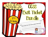 2nd Grade Common Core Reading Exit Slips for Assessment