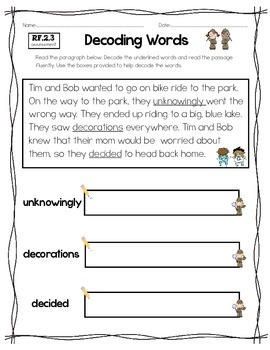 2nd Grade Common Core Reading Foundational Skills