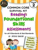 Common Core Reading Foundational Skills 2nd Grade