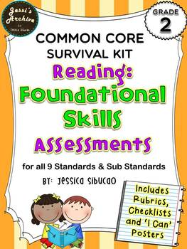 Common Core Reading Foundational Skills 2nd Grade